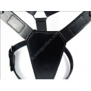 Plain Black Extra Large Harness