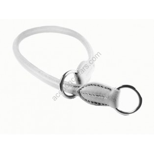 Super Soft Best Rolled Leather Slip or Check Dog Collar
