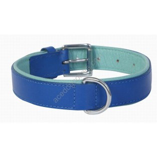 Comfy Leather Dog Collar Padded And lined with Lamb's Leather:
