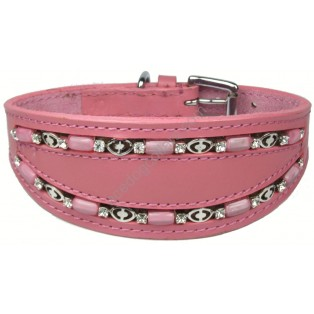 Ace Traditional Leather Dog Collar