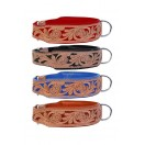 Handcrafted ~ Comfy Padded Leather Dog Collar Padded And lined with SOFT Leather (Red, Black, Blue, Tan)